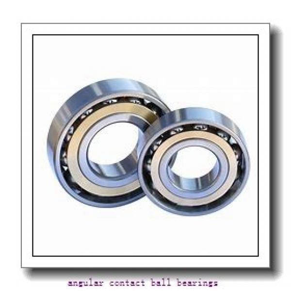 30 mm x 72 mm x 30,2 mm  FAG 3306-B-2RSR-TVH  Angular Contact Ball Bearings #1 image
