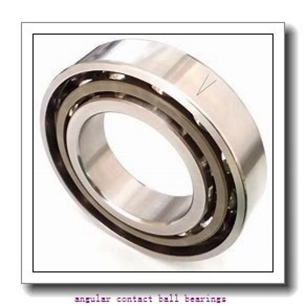 35 mm x 80 mm x 34,9 mm  FAG 3307-B-TVH  Angular Contact Ball Bearings #1 image